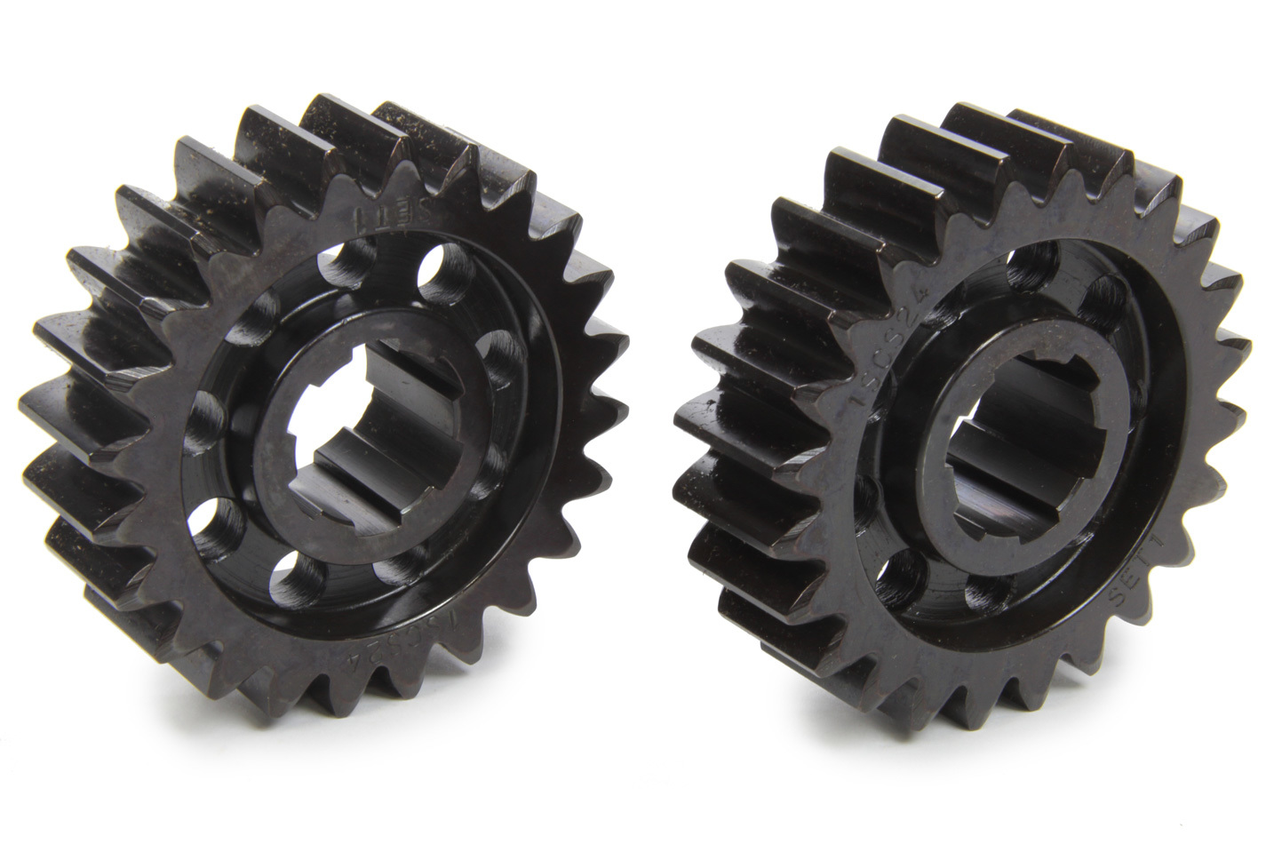 SCS Gears 61 Quick Change Gear Set, Professional, Set 61, 6 Spline, 4.11 Ratio 4.11 / 4.11, 4.33 Ratio 4.33 / 4.33, Steel, Each