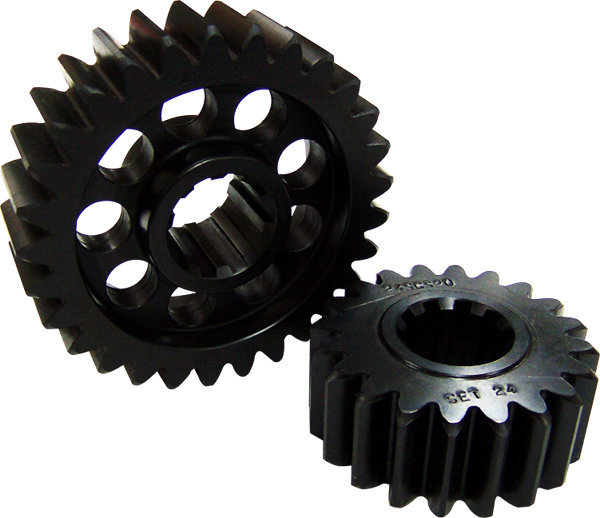 SCS Gears 610 Quick Change Gear Set, Professional, Set 610, 6 Spline, 4.11 Ratio 2.83 / 5.98, 4.33 Ratio 2.98 / 6.30, Steel, Each