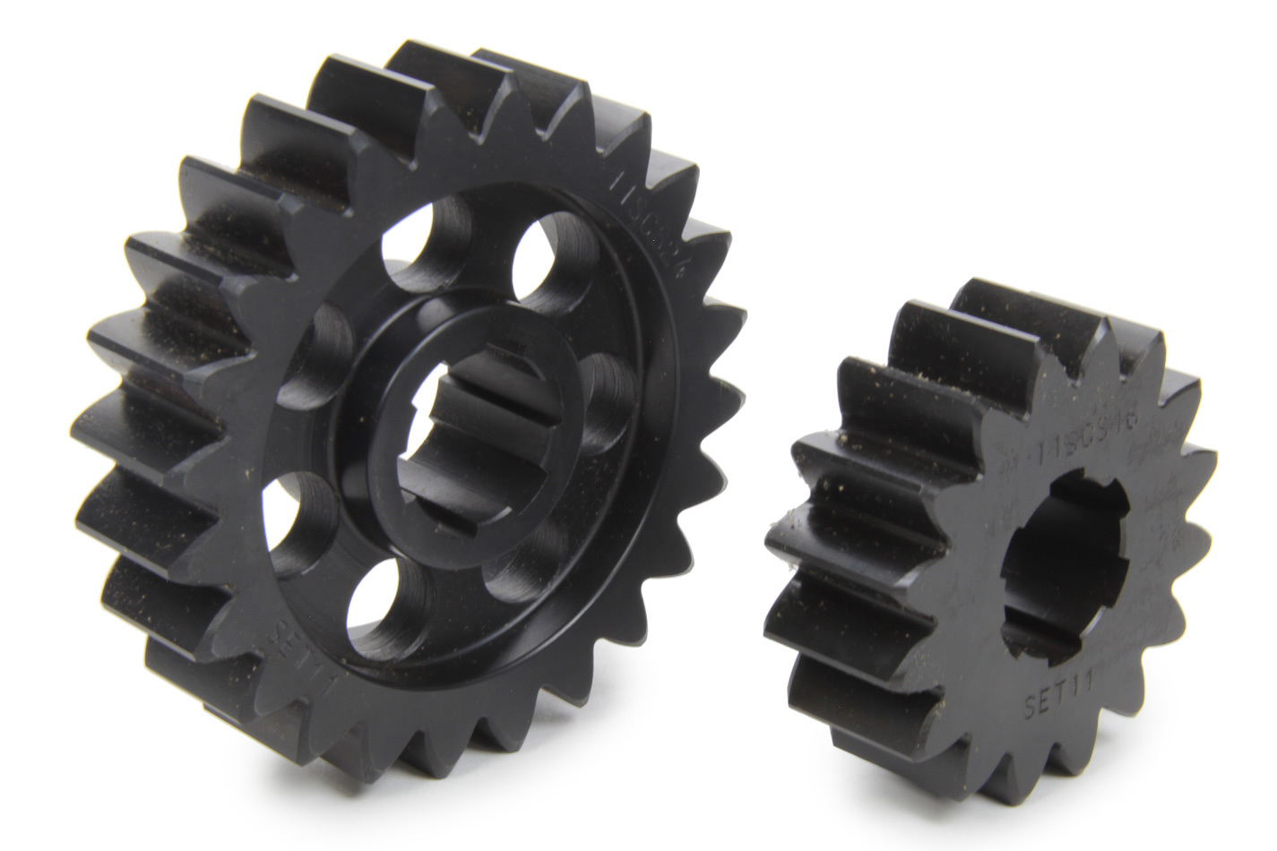 SCS Gears 611 Quick Change Gear Set, Professional, Set 611, 6 Spline, 4.11 Ratio 2.74 / 6.17, 4.33 Ratio 2.89 / 6.50, Steel, Each