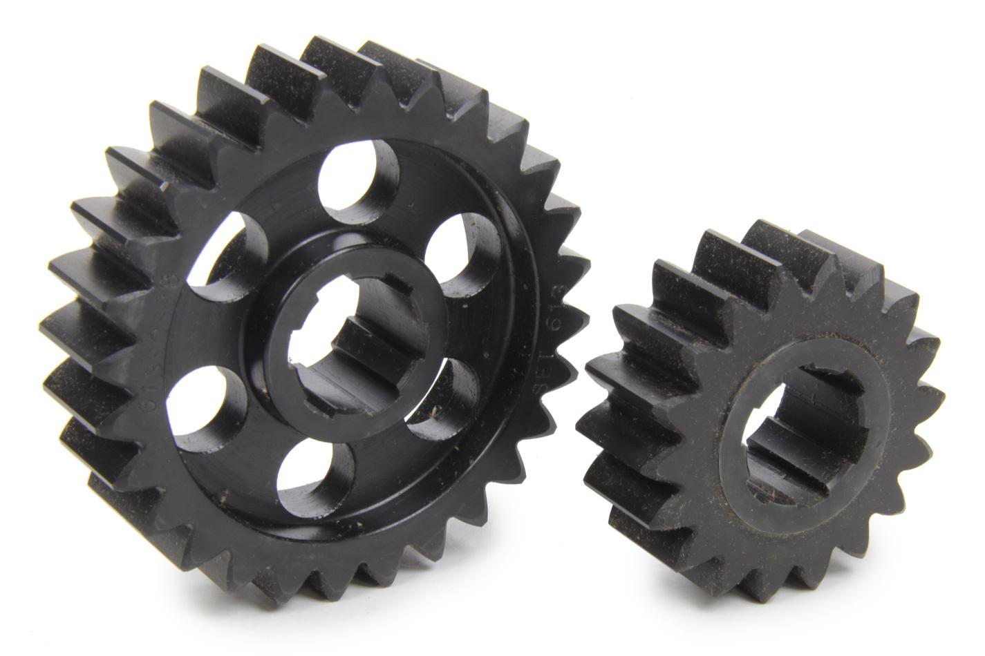 SCS Gears 613 Quick Change Gear Set, Professional, Set 613, 6 Spline, 4.11 Ratio 2.64 / 6.39, 4.33 Ratio 2.78 / 6.74, Steel, Each