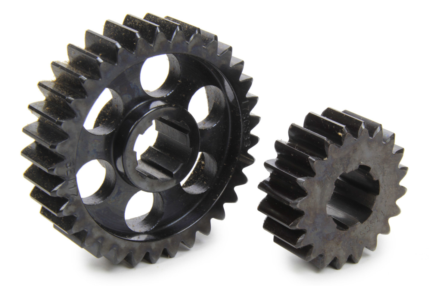 SCS Gears 617 Quick Change Gear Set, Professional, Set 617, 6 Spline, 4.11 Ratio 2.49 / 6.78, 4.33 Ratio 2.62 / 7.14, Steel, Each