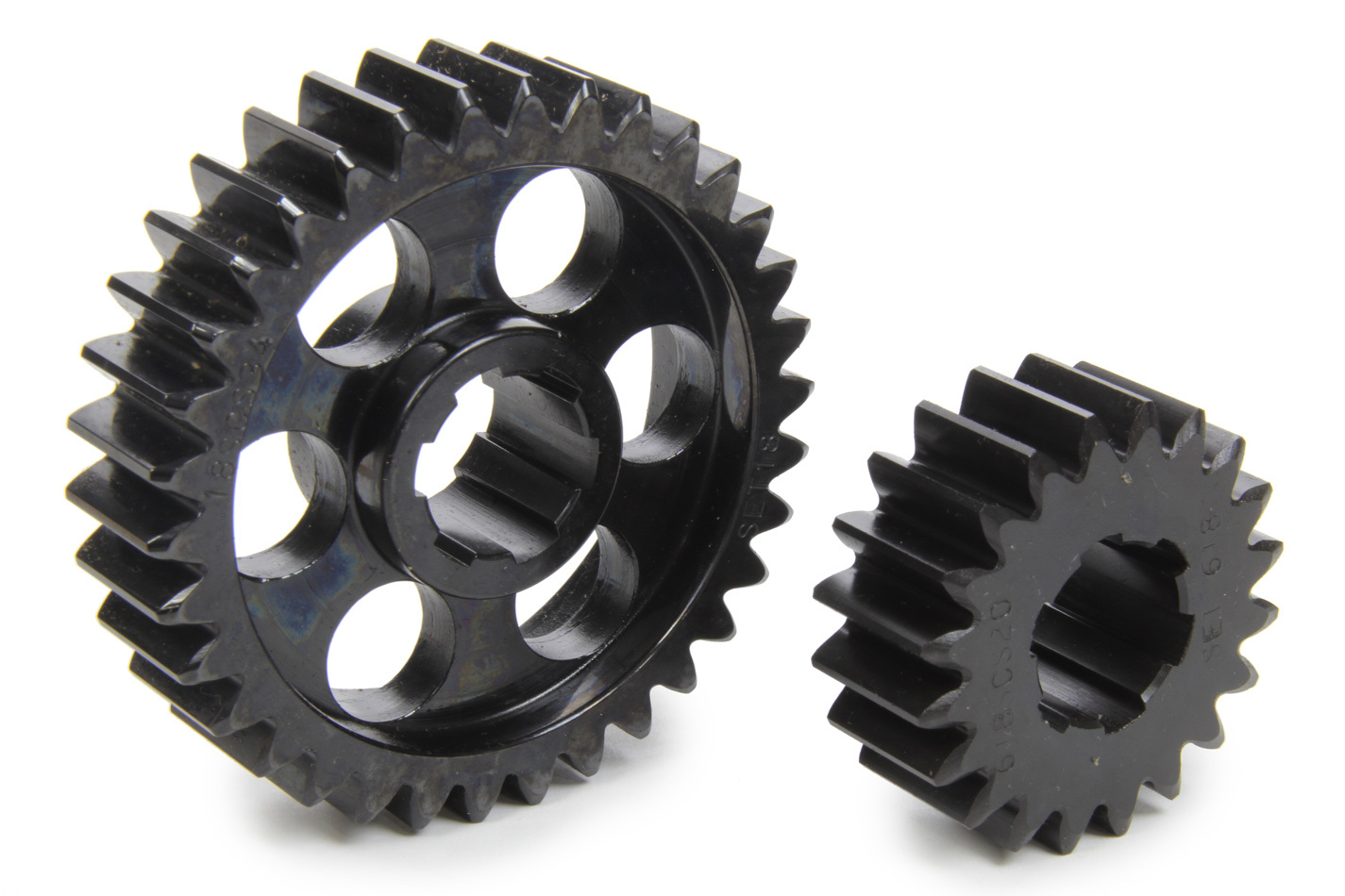SCS Gears 618 Quick Change Gear Set, Professional, Set 618, 6 Spline, 4.11 Ratio 2.42 / 6.99, 4.33 Ratio 2.55 / 7.36, Steel, Each