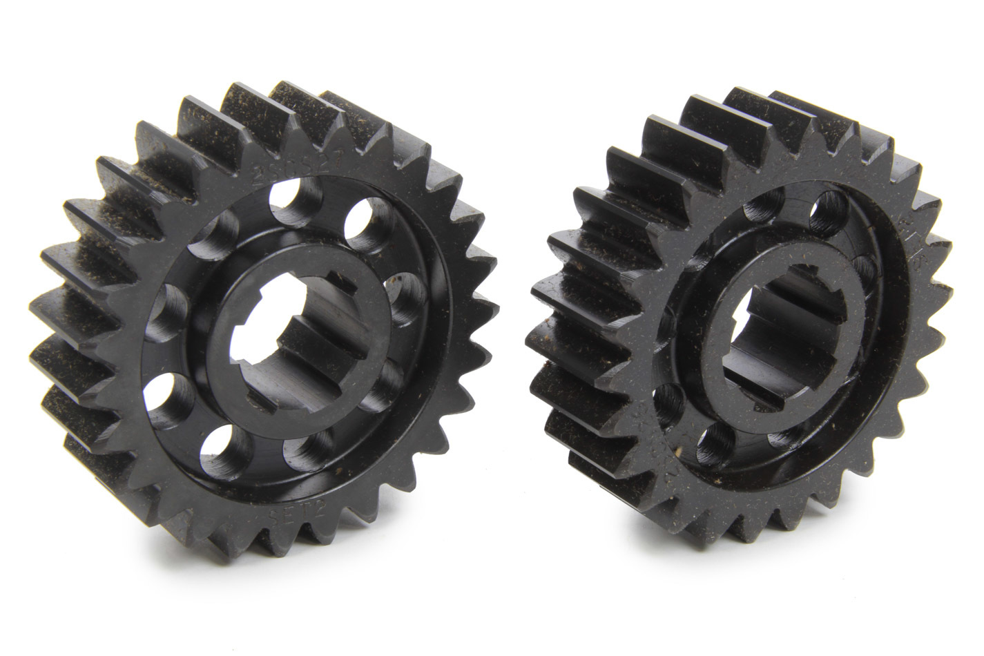 SCS Gears 62 Quick Change Gear Set, Professional, Set 62, 6 Spline, 4.11 Ratio 3.96 / 4.27, 4.33 Ratio 4.17 / 4.50, Steel, Each