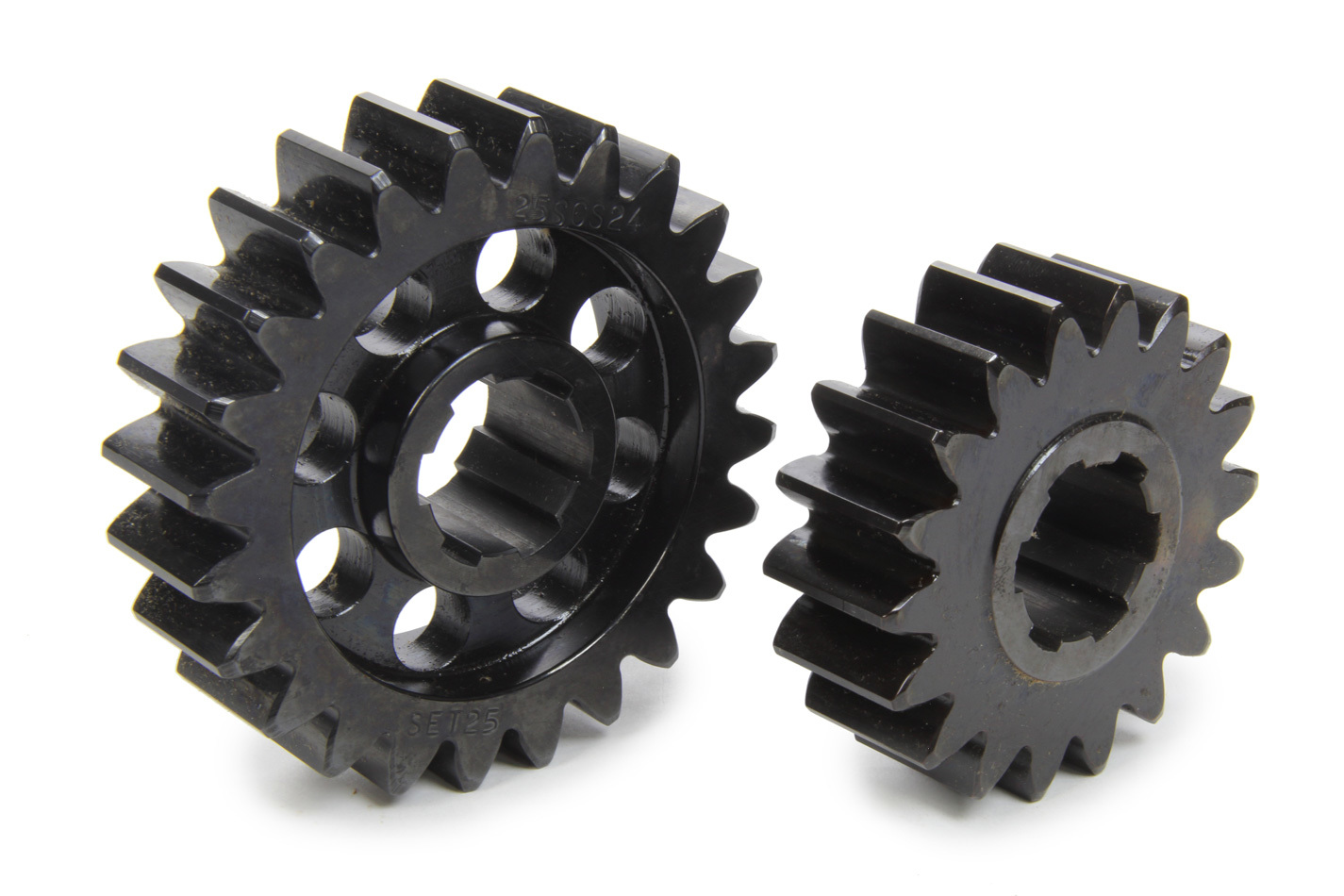SCS Gears 625 Quick Change Gear Set, Professional, Set 625, 6 Spline, 4.11 Ratio 3.08 / 5.48, 4.33 Ratio 3.25 / 5.77, Steel, Each