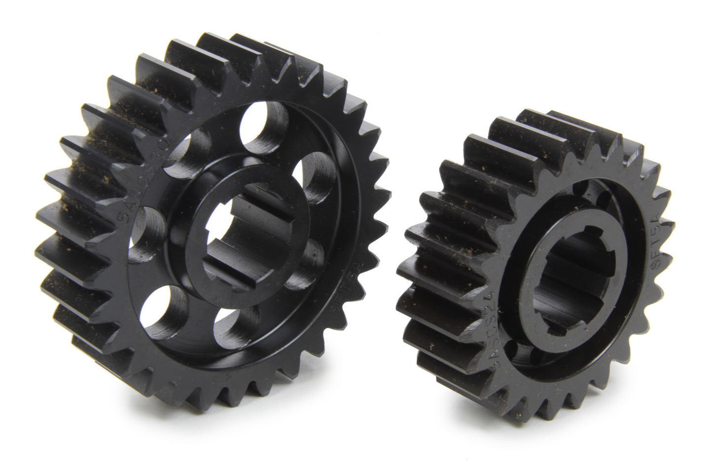 SCS Gears 65A Quick Change Gear Set, Professional, Set 65A, 6 Spline, 4.11 Ratio 3.29 / 5.14, 4.33 Ratio 3.46 / 5.41, Steel, Each