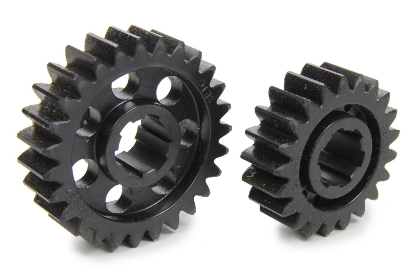 SCS Gears 66 Quick Change Gear Set, Professional, Set 66, 6 Spline, 4.11 Ratio 3.20 / 5.28, 4.33 Ratio 3.37 / 5.57, Steel, Each