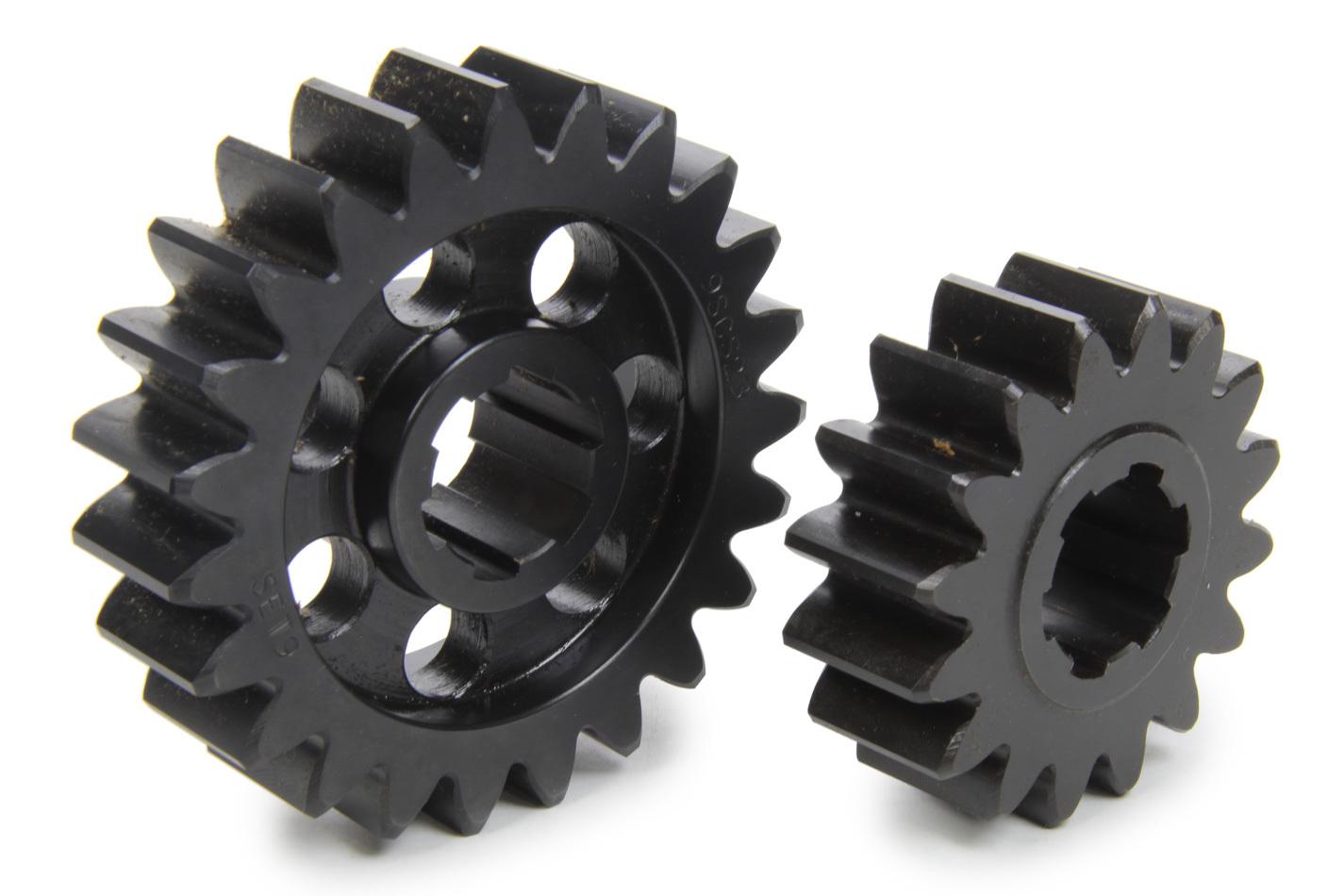 SCS Gears 69 Quick Change Gear Set, Professional, Set 69, 6 Spline, 4.11 Ratio 2.86 / 5.91, 4.33 Ratio 3.01 / 6.22, Steel, Each