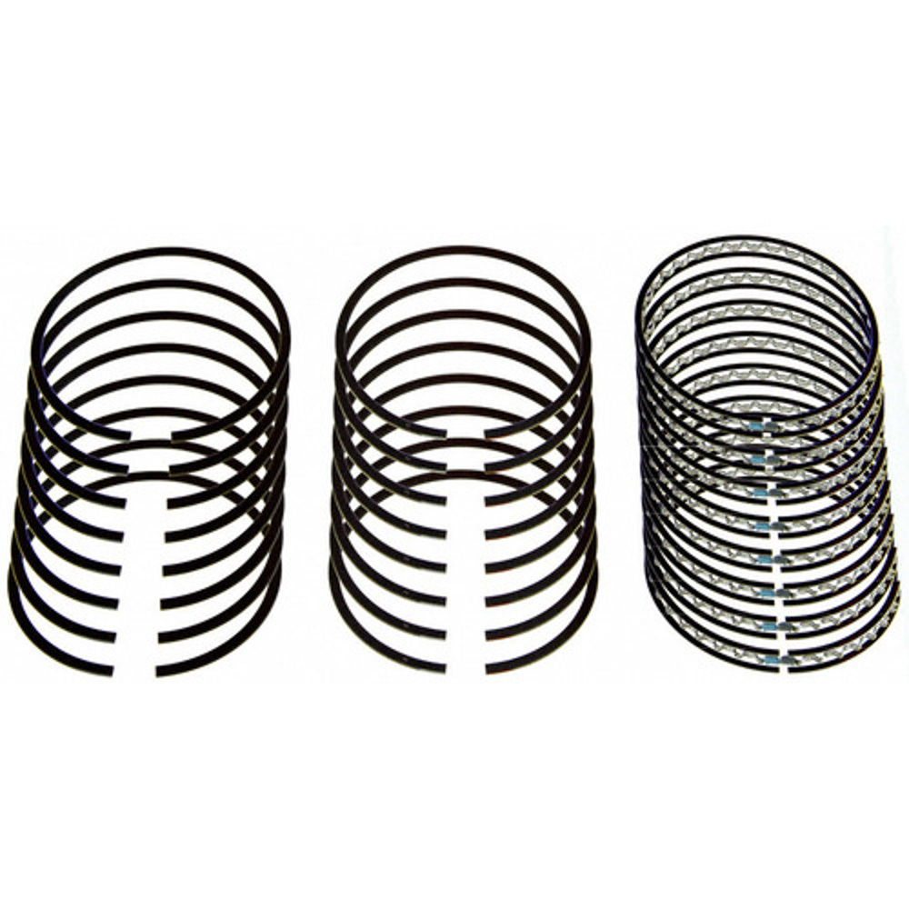 Sealed Power E937K25MM Piston Rings, Premium, 96.00 mm Bore, 1.50 x 1.50 x 3.00 mm Thick, Standard Tension, Plasma Moly, 8 Cylinder, Kit
