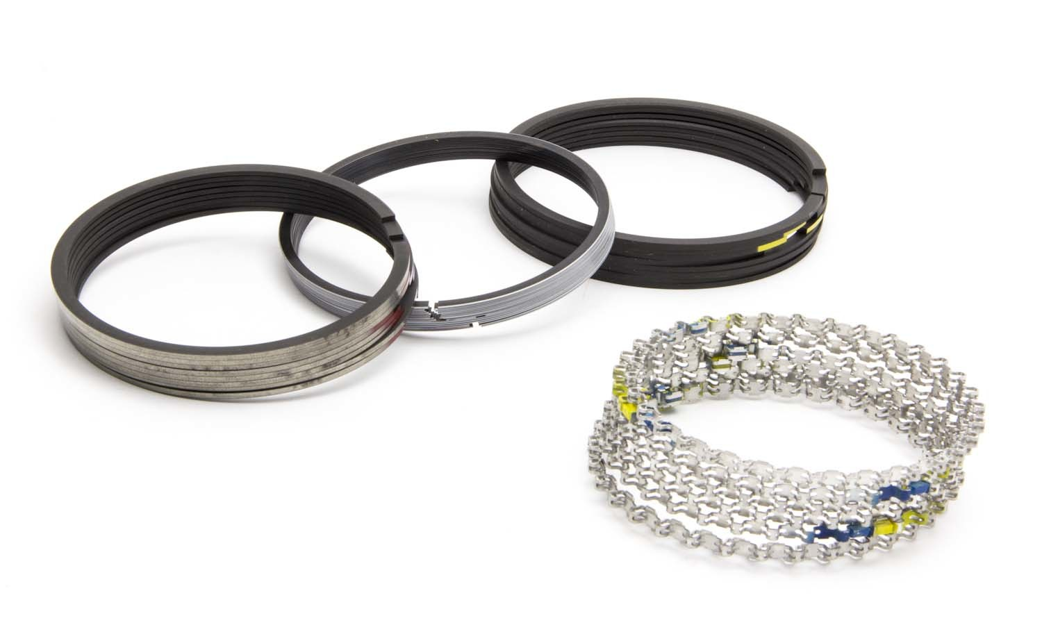 Sealed Power R9903-30 Piston Rings, Speed Pro, 4.030 in Bore, 5/64 x 5/64 x 3/16 in Thick, Standard Tension, Plasma Moly, 8 Cylinder, Kit