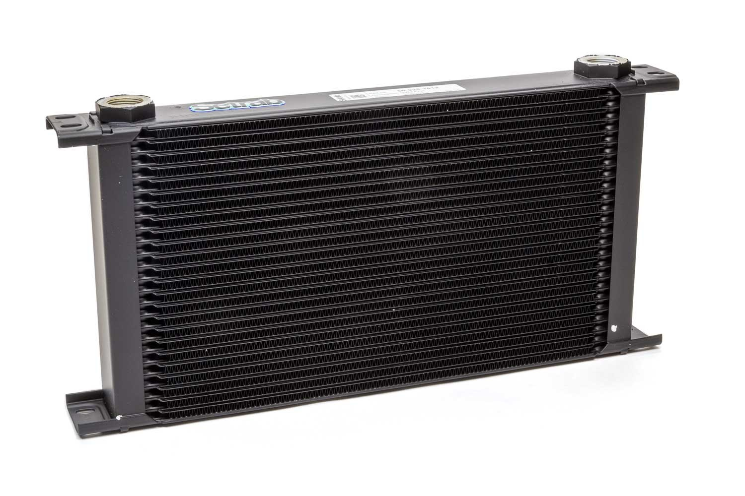 Setrab Oil Coolers 50-925-7612 Fluid Cooler, ProLine STD 9 Series, 16 x 7-5/8 x 2 in, Plate Type, 22 mm x 1.50 Female Inlet / Outlet, Aluminum, Black Paint, Universal, Each