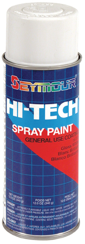 Hi-Tech Enamels Gloss White Paint