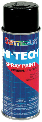 Hi-Tech Enamels Gloss Black Paint