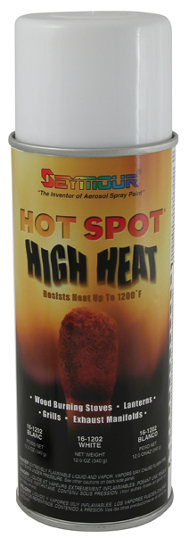 Hot Spot High Temp Paint White