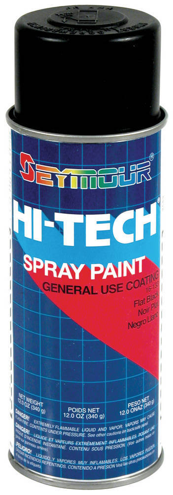 Hi-Tech Enamels Flat Black Paint