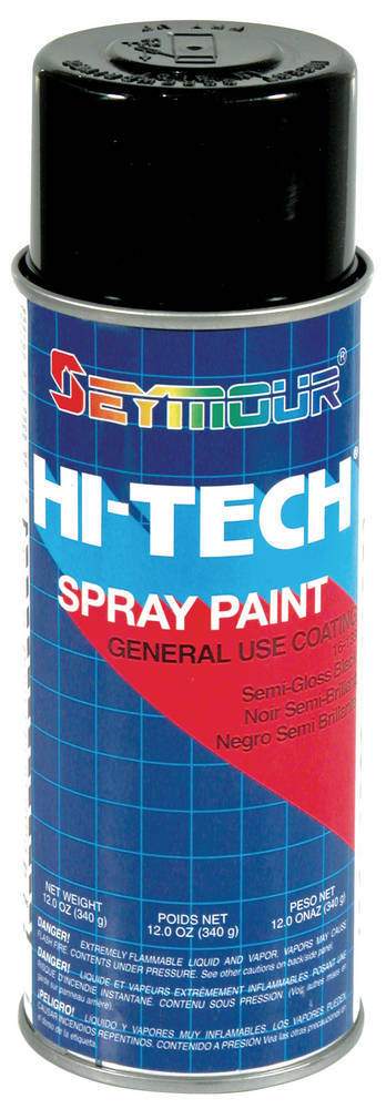 Hi-Tech Enamels Semi- Gloss Black Paint