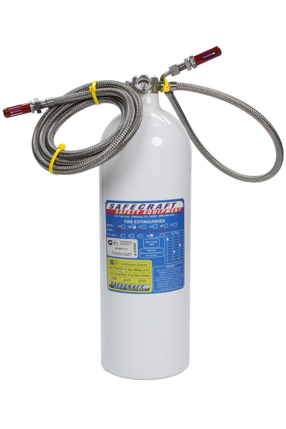 Fire System 10lb Novec Automatic Onlys