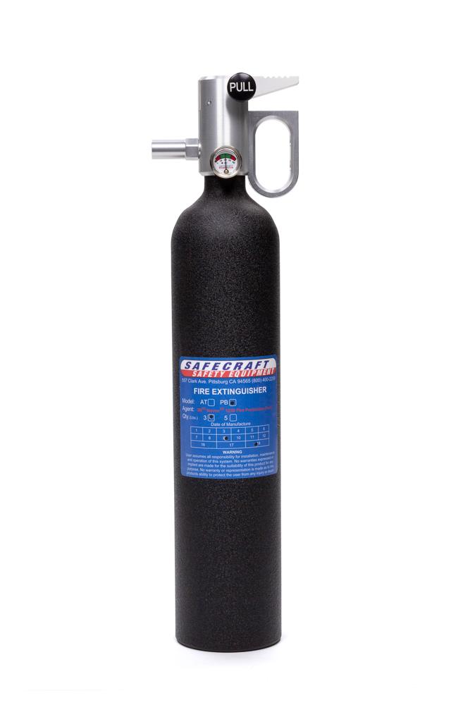 Fire Extinguisher 3lb Black Wrinkle Novec