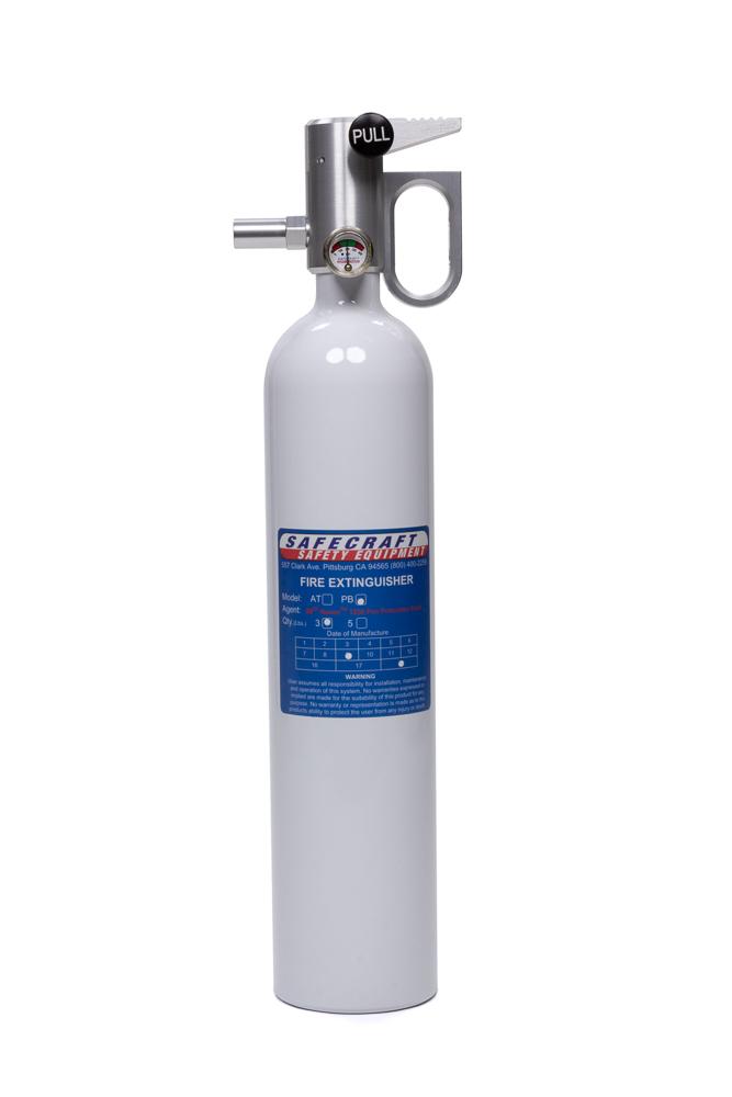 Fire Extinguisher 3lb White Novec