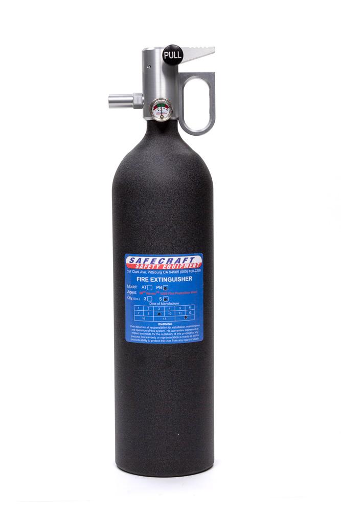 Fire Extinguisher 5lb Black Wrinkle Novec