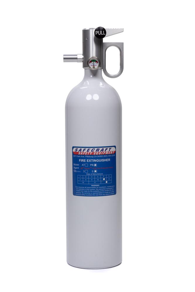 Fire Extinguishers 5lb White Novec
