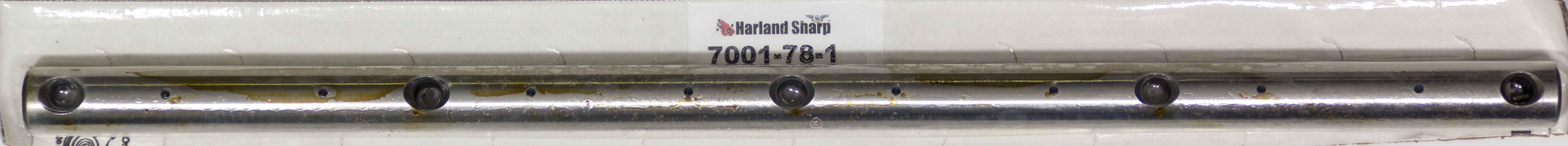 Sharp Rockers 7001-78-1 Rocker Arm Shaft, Steel, Harland Sharp Shaft Mount Rocker Arms, Mopar B / RB-Series, Each