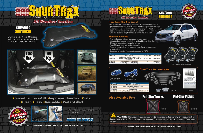 SUV/Auto Sell Sheet