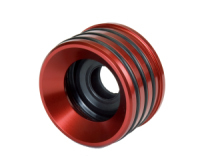 Seals-It AS9188 Axle Housing Seal, Inner, 2.625 in OD, 2.605 in ID, Rubber / Aluminum, Red, Universal, Each