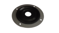 Seals-It GS100310 Firewall Grommet, 1 Hole, 3 in OD, 5/8 in ID, Aluminum/Rubber, Black, Each