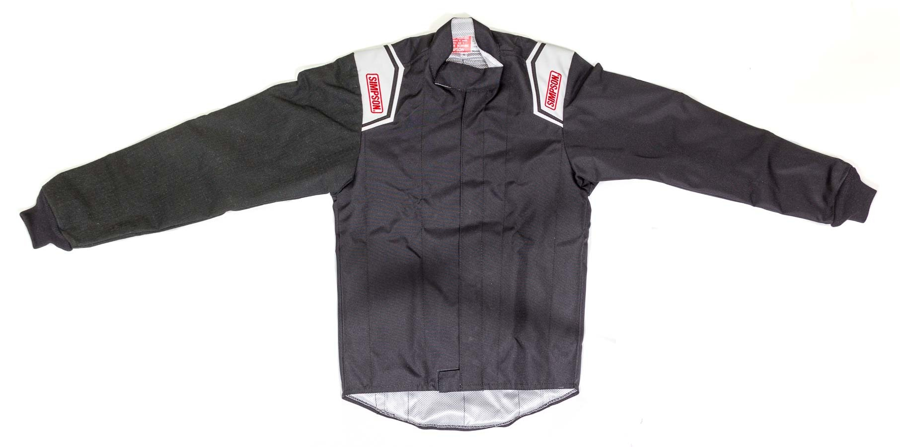 Simpson 0102182 Jacket, Driving, Apex Kart, Carbon X Sleeve, Black, Small, Each