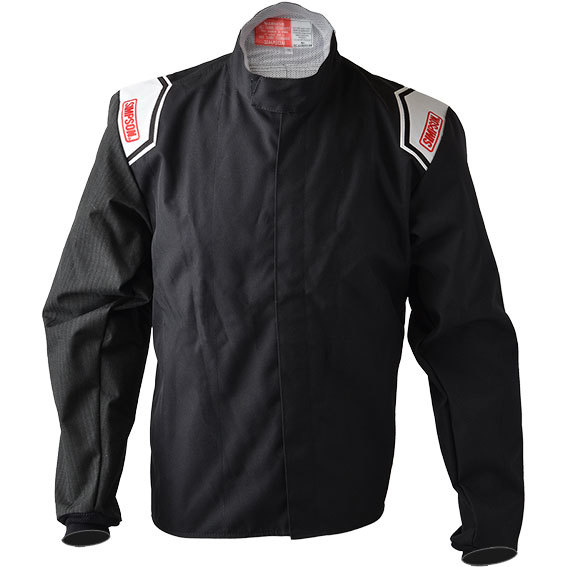 Simpson 0102282 Jacket, Driving, Apex Kart, Carbon X Sleeve, Black, Medium, Each