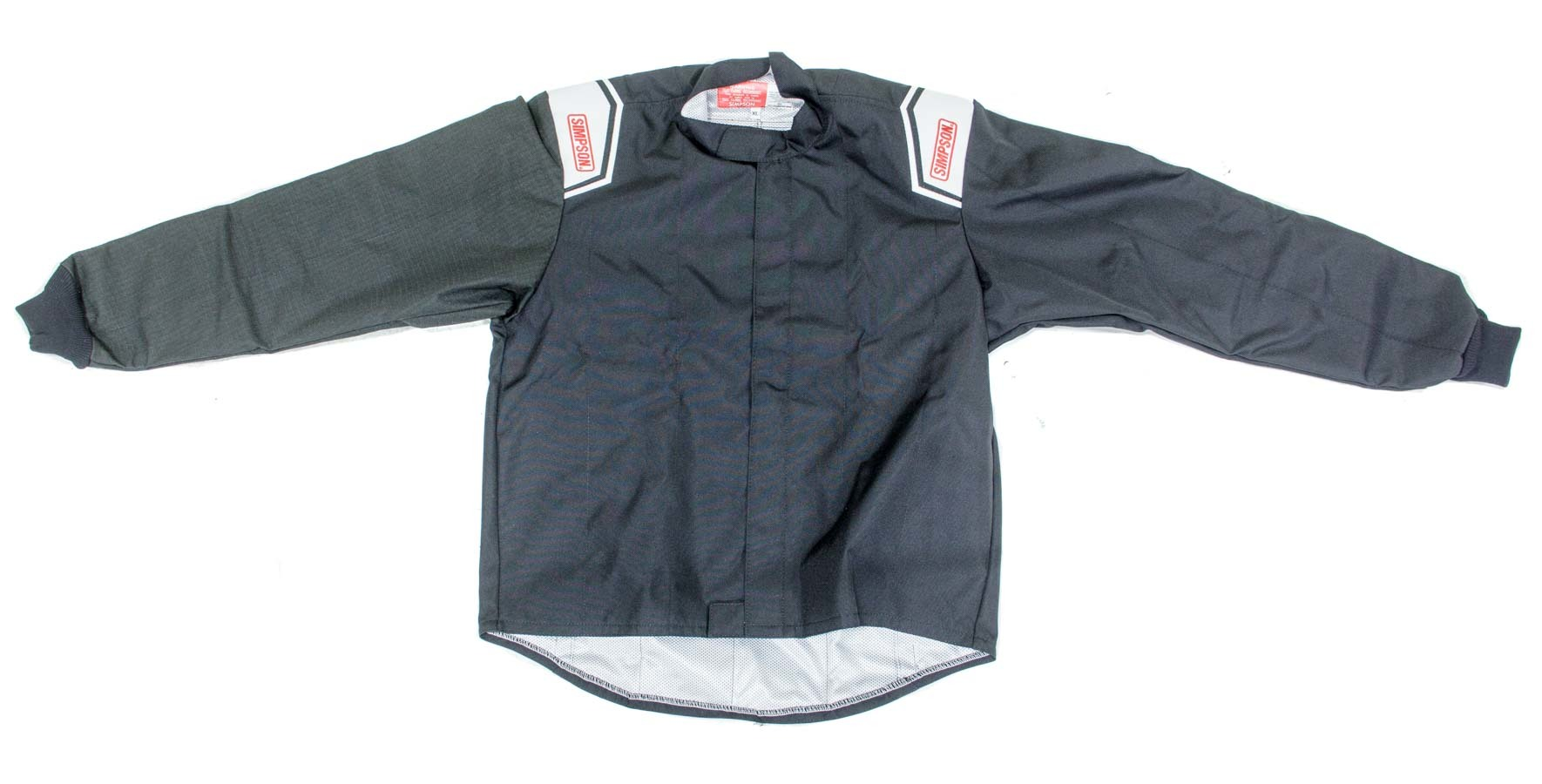 Simpson 0102382 Jacket, Driving, Apex Kart, Carbon X Sleeve, Black, Large, Each