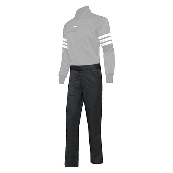 Simpson 0402213 Pants, Driving, SFI 3.2A/5, Double Layer, Nomex, Black, Medium, Each