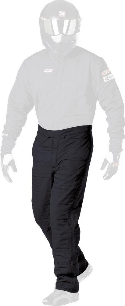 SS Pant Double Layer Black Medium
