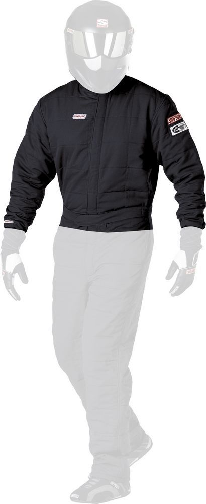 SS Jacket Double Layer Black X-Large