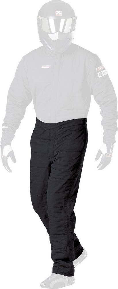 SS Pant Double Layer Black X-Large