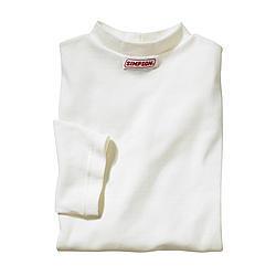 Simpson 20100XL Underwear Top, SFI 3.3, Short Sleeve, Crew Neck, Nomex, Natural, X-Large, Each