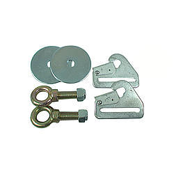 Simpson 31020 Safety Restraint Bracket, Floor, Eye Bolts / Washers / Nuts / Clips, Kit