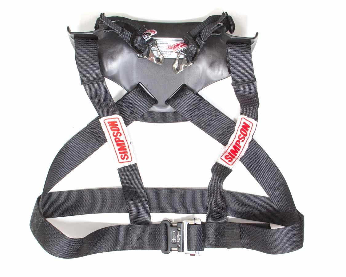 Simpson Safety HS.LRG.11.PA.FIA Head and Neck Support, Hybrid Sport, SFI 38.1, FIA Approved, Plastic, Large, Each