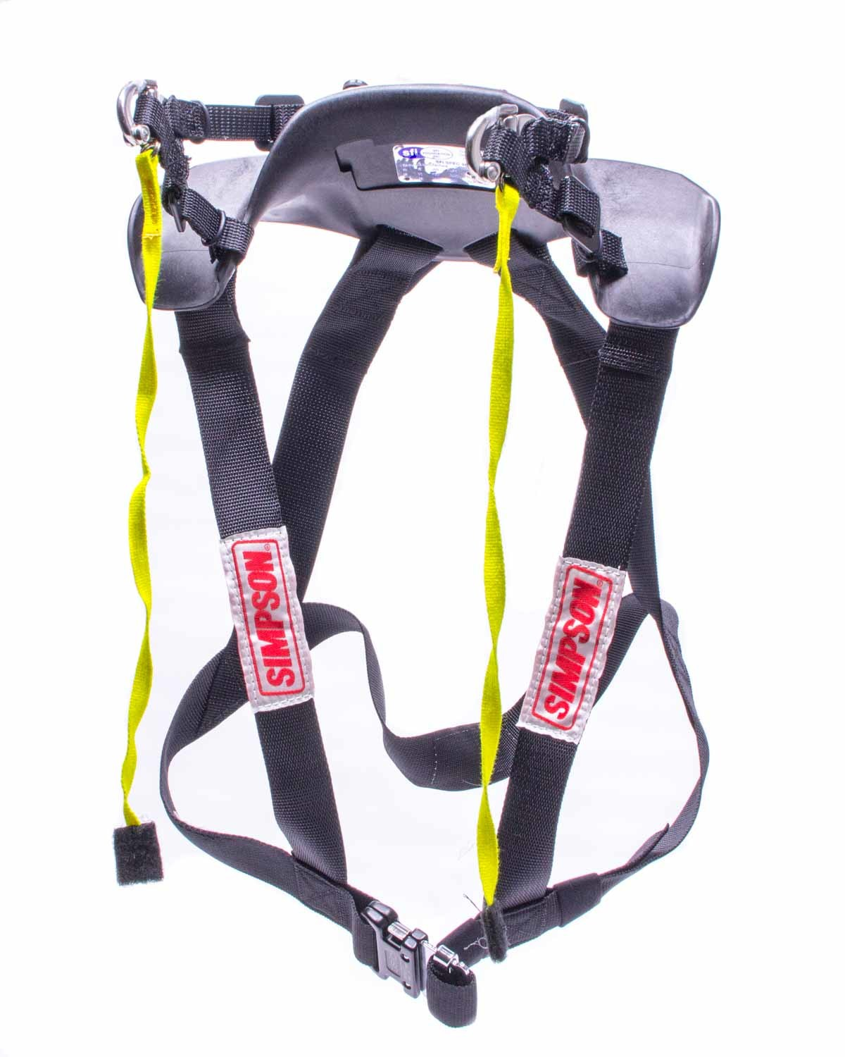 Simpson HS.XSC.11 Head and Neck Support, Hybrid Sport, SFI 38.1, Plastic, Black, Youth X-Small, Kit