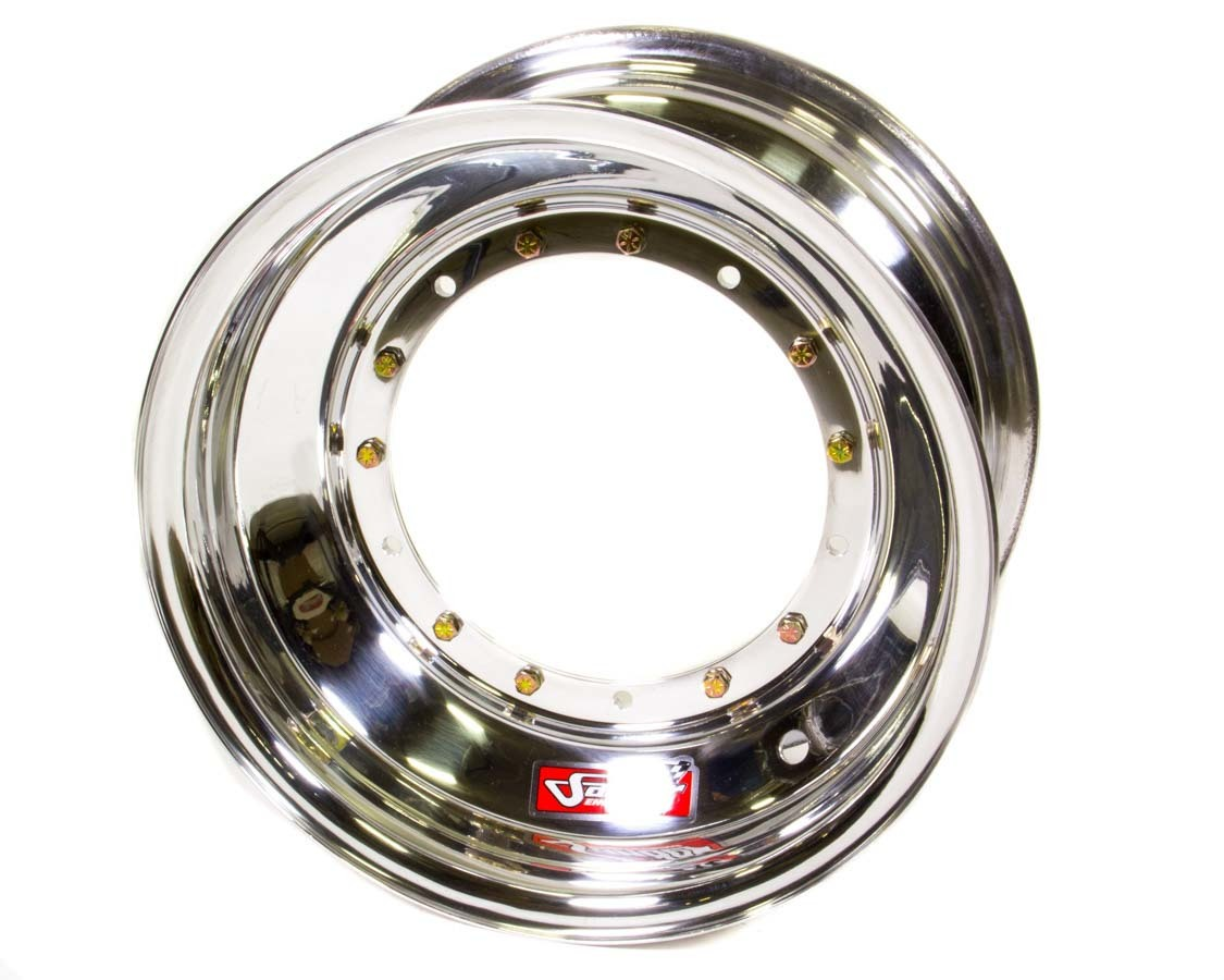 Sander Engineering 15-083-DN Wheel, 15 x 8 in, 3.000 in Backspace, Direct Mount, Aluminum, Polished, Each