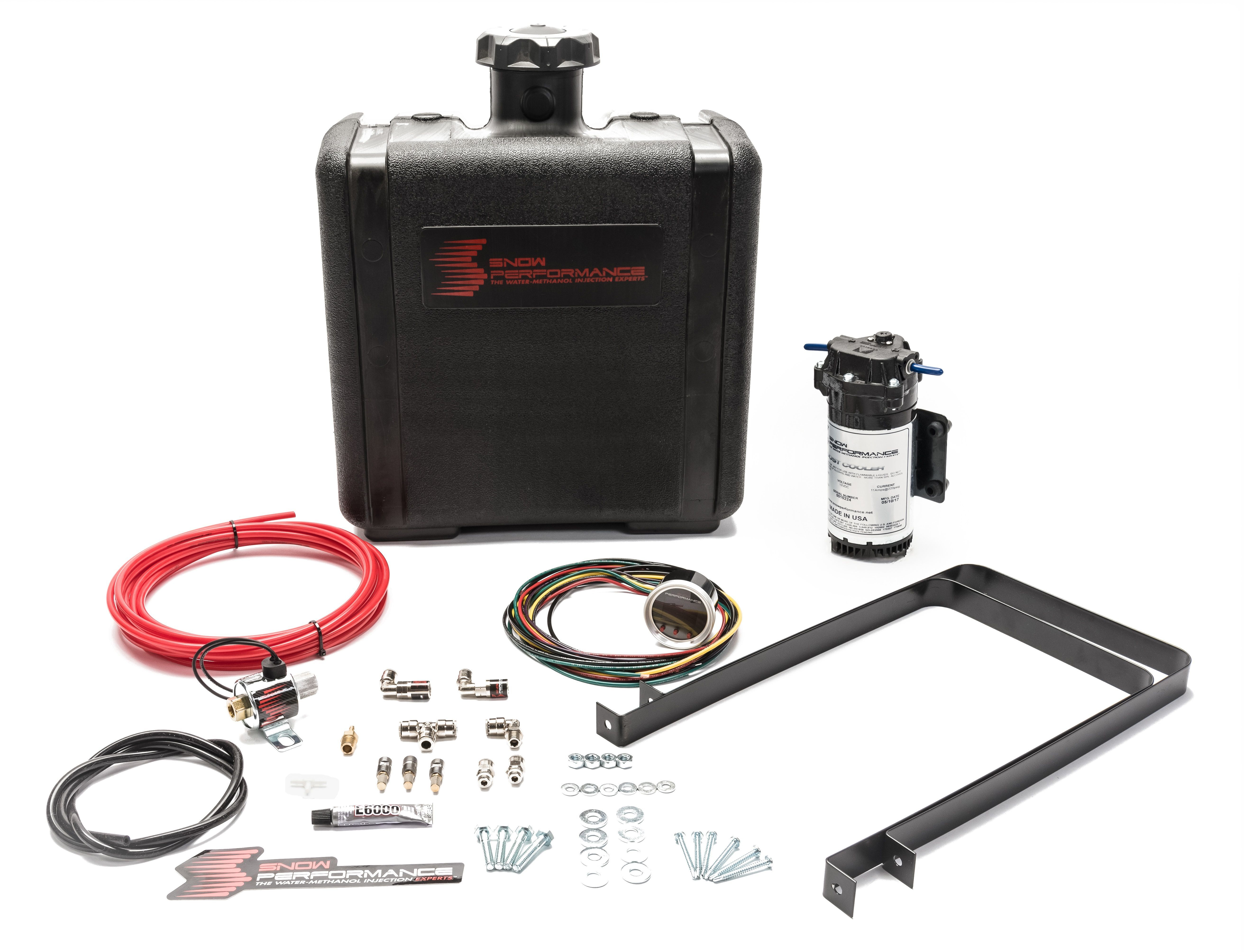 Snow Performance 450 Water Injection System, Stage 2 Boost Cooler, Progressive Controlled, 3 qt Reservoir, Universal Diesel, Kit