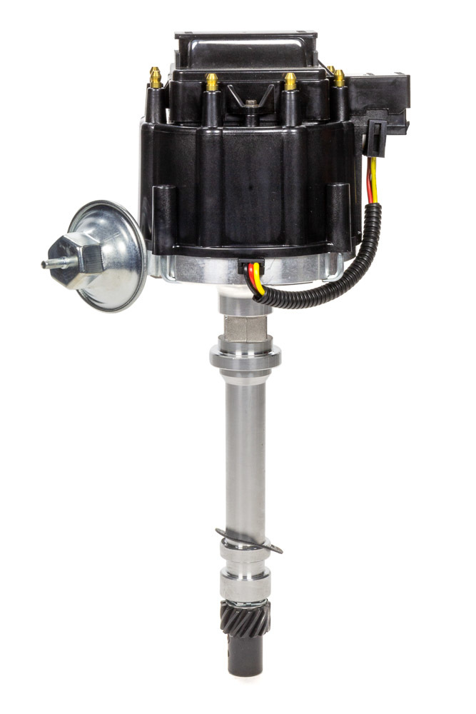 Specialty Products 3099BK Distributor, Ready-To-Run, Magnetic Pickup, Vacuum Advance, HEI Style Terminal, Black, Chevy V8, Each