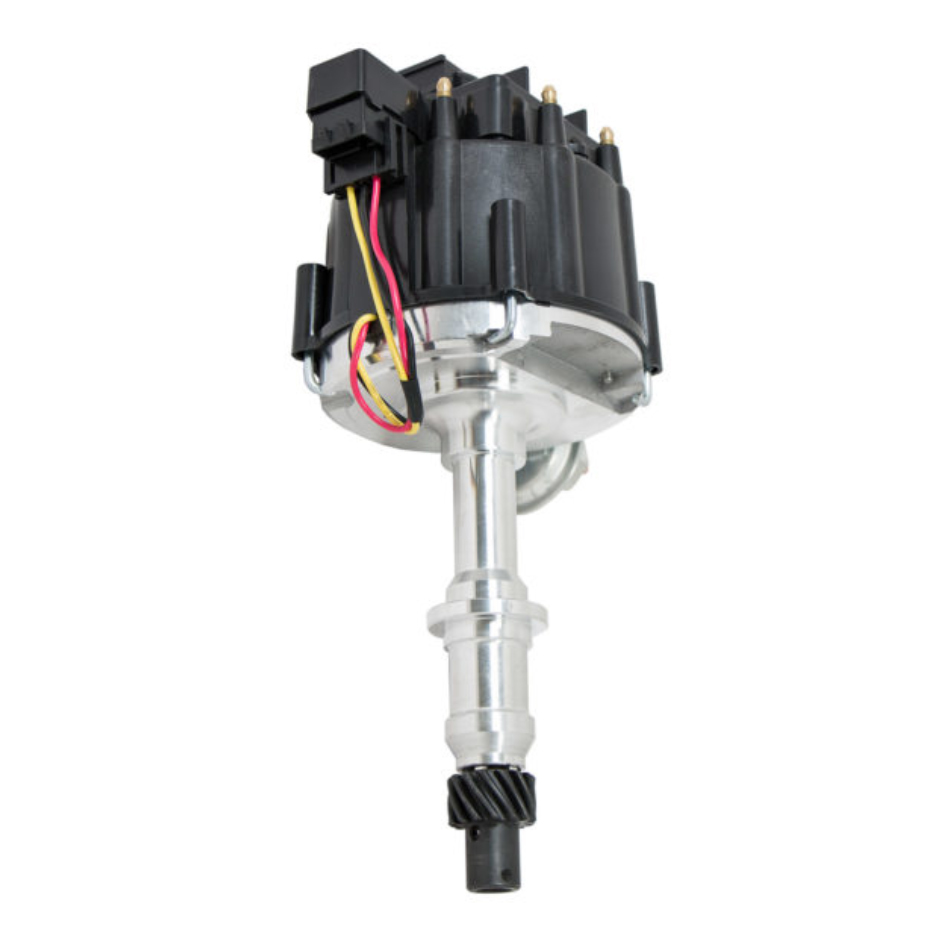 Specialty Products 3100BK Distributor, Ready-To-Run, Magnetic Pickup, Vacuum Advance, HEI Style Terminal, Black, Chevy V8, Each