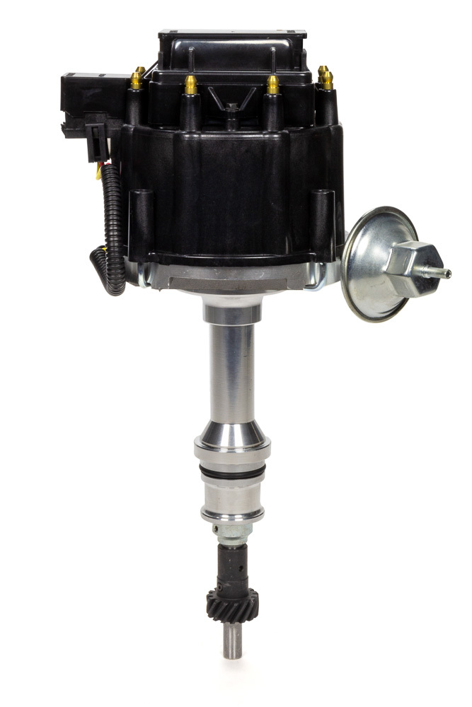 Specialty Chrome 3101BK Distributor, Ready-To-Run, Magnetic Pickup, Vacuum Advance, HEI Style Terminal, Black, Small Block Ford, Each