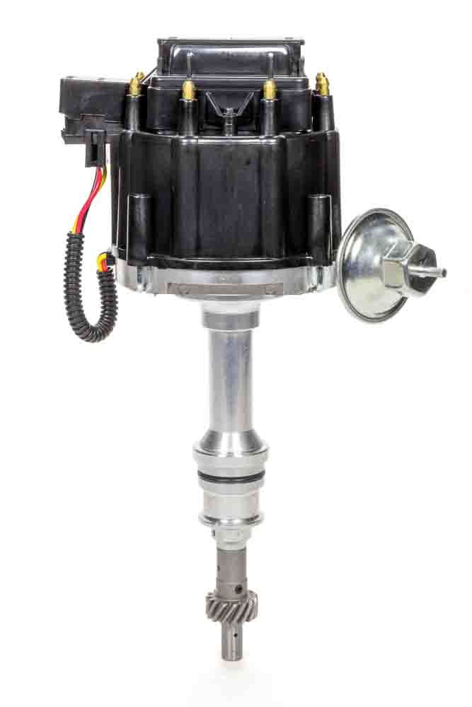 Specialty Chrome 3102BK Distributor, Ready-To-Run, Magnetic Pickup, Vacuum Advance, HEI Style Terminal, Black, Small Block Ford, Each