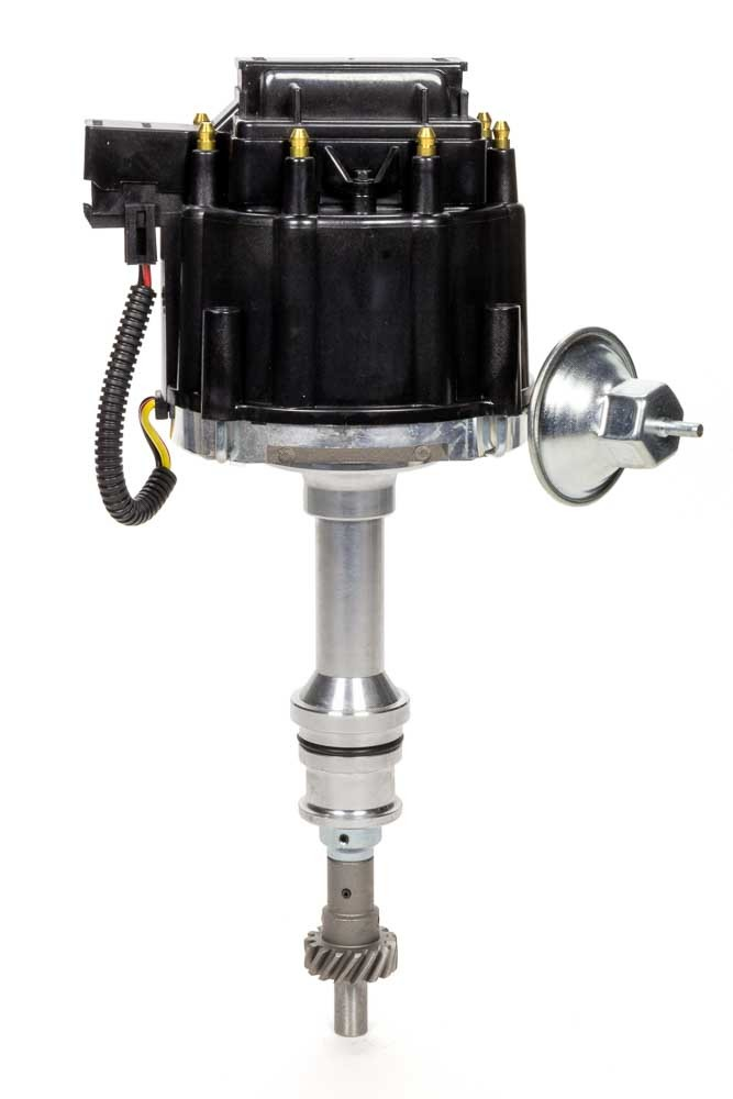 Specialty Chrome 3103BK Distributor, Ready-To-Run, Magnetic Pickup, Vacuum Advance, HEI Style Terminal, Black, Big Block Ford, Each