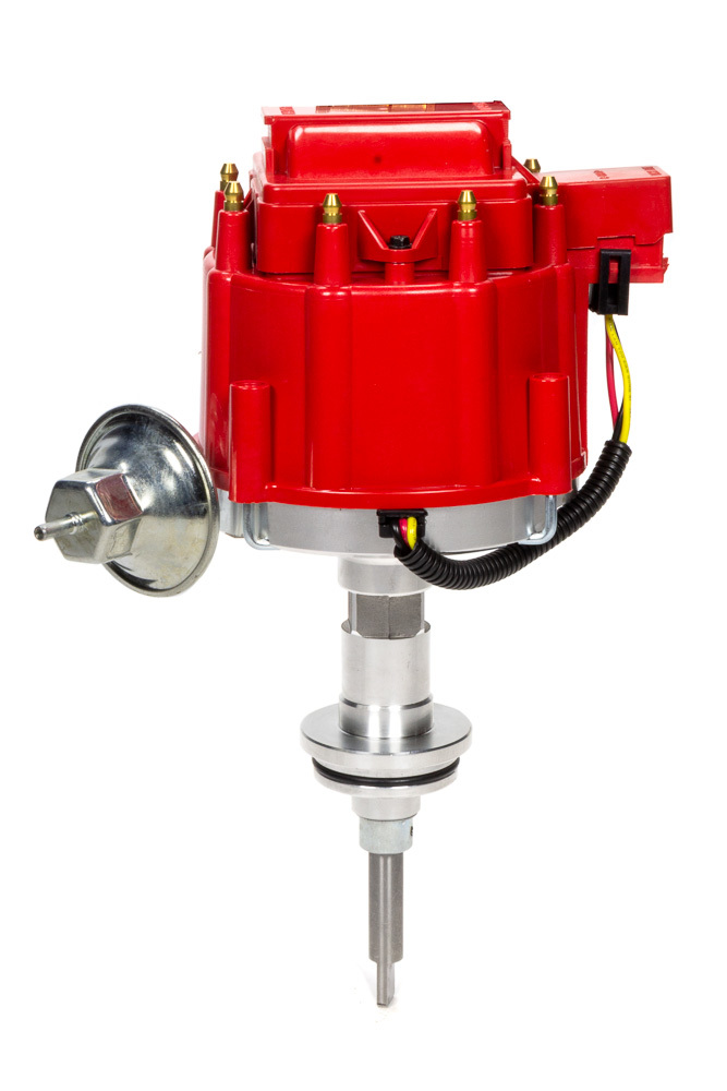Specialty Products 3106R Distributor, Ready-To-Run, Magnetic Pickup, Vacuum Advance, HEI Style Terminal, Red, Mopar, Each