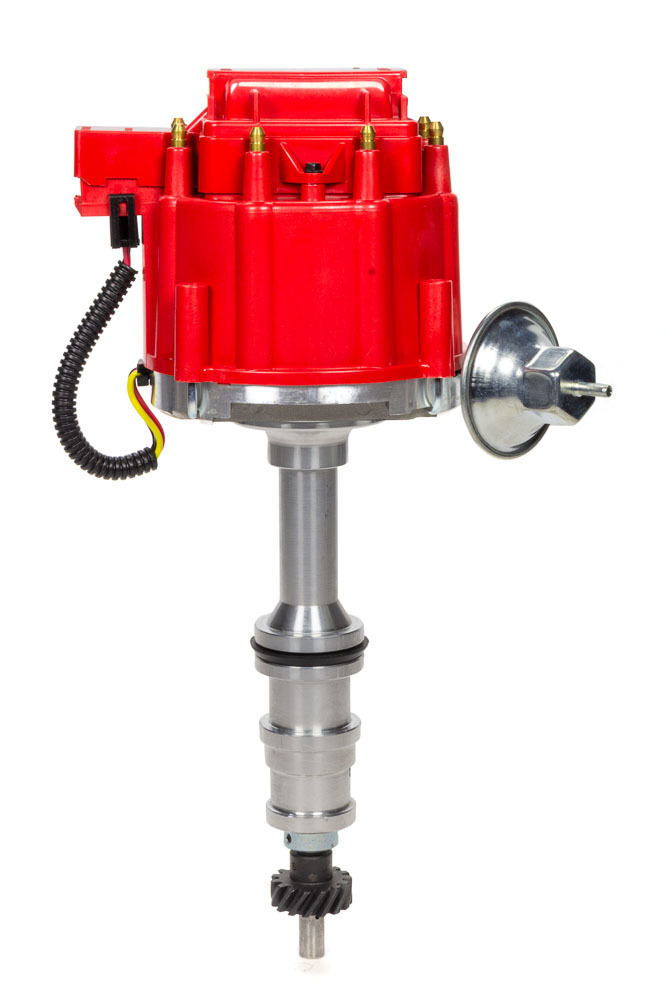 Specialty Products 3109R Distributor, Ready-To-Run, Magnetic Pickup, Vacuum Advance, HEI Style Terminal, Black, Ford FE-Series, Each