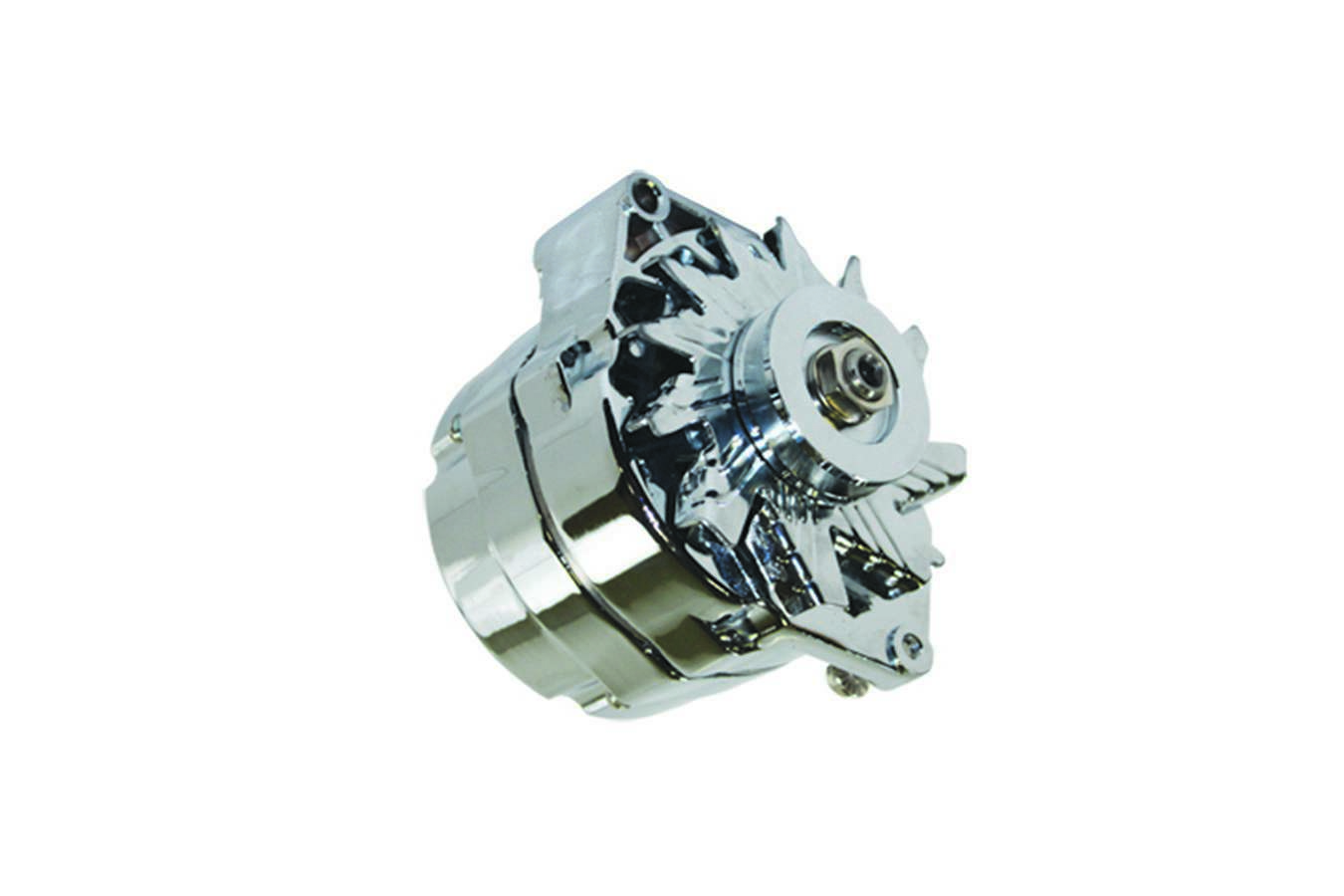 Specialty Products 3116 Alternator, 110 amp, 12V, 1 / 3-Wire, Single V-Belt Pulley, Chrome, Ford 1962-85, Each