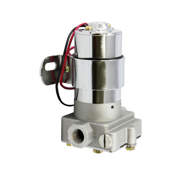 Specialty Chrome 3148 Fuel Pump, Electric, 130 gph, 6 psi, 3/8 in NPT Female Inlet, 3/8 in NPT Female Outlet, Aluminum, Natural, Gas, Universal, Each